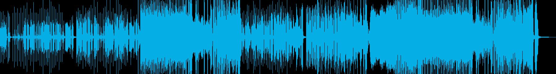 小動物テーマの軽めのロック…00:40の再生済みの波形