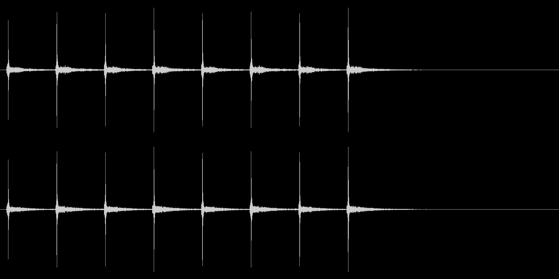時計 秒針02-8(リバーブ 2)の未再生の波形