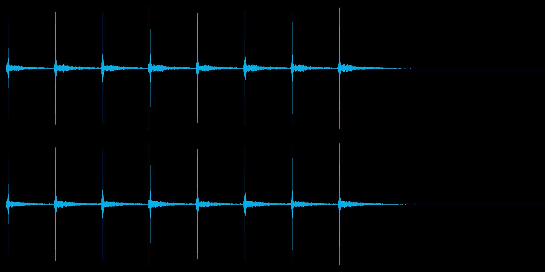 時計 秒針02-8(リバーブ 2)の再生済みの波形
