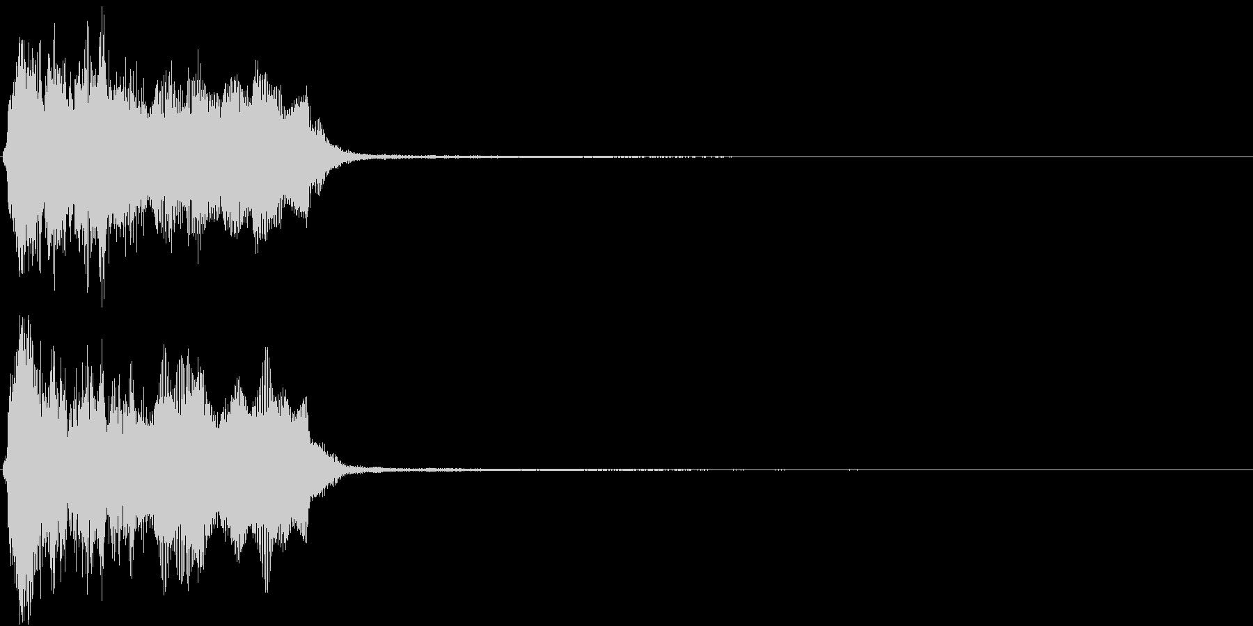 トランペット ファンファーレ 定番 2の未再生の波形