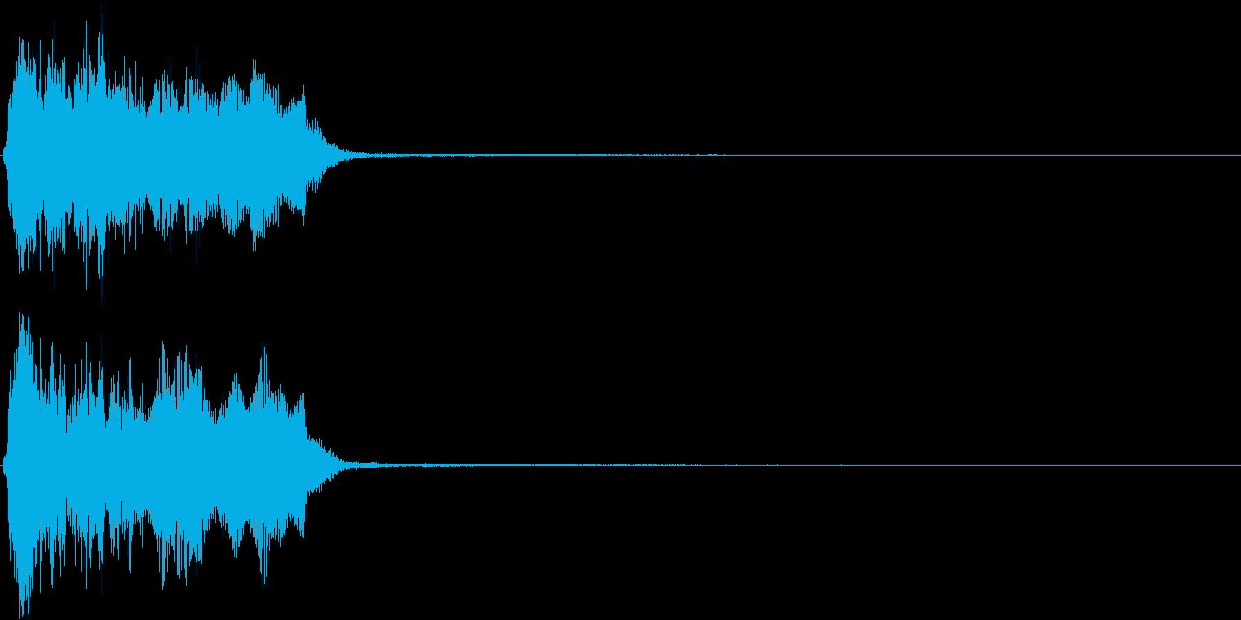 トランペット ファンファーレ 定番 2の再生済みの波形