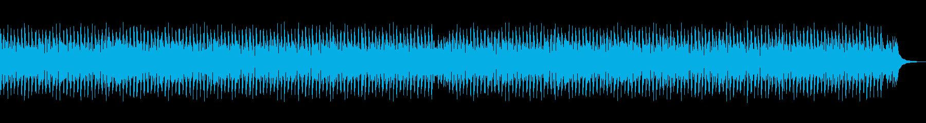 ハウス・爽やか・ポップ・ランニングの再生済みの波形