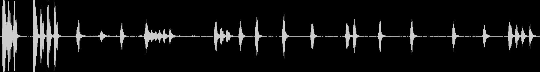 犬の樹皮シングルの未再生の波形