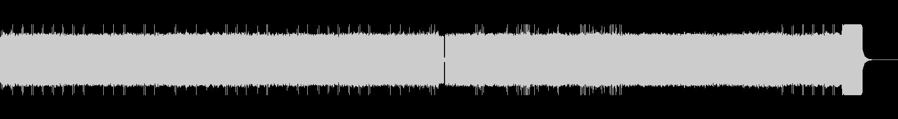 J.S.バッハ無伴奏チェロ組曲8bit風の未再生の波形