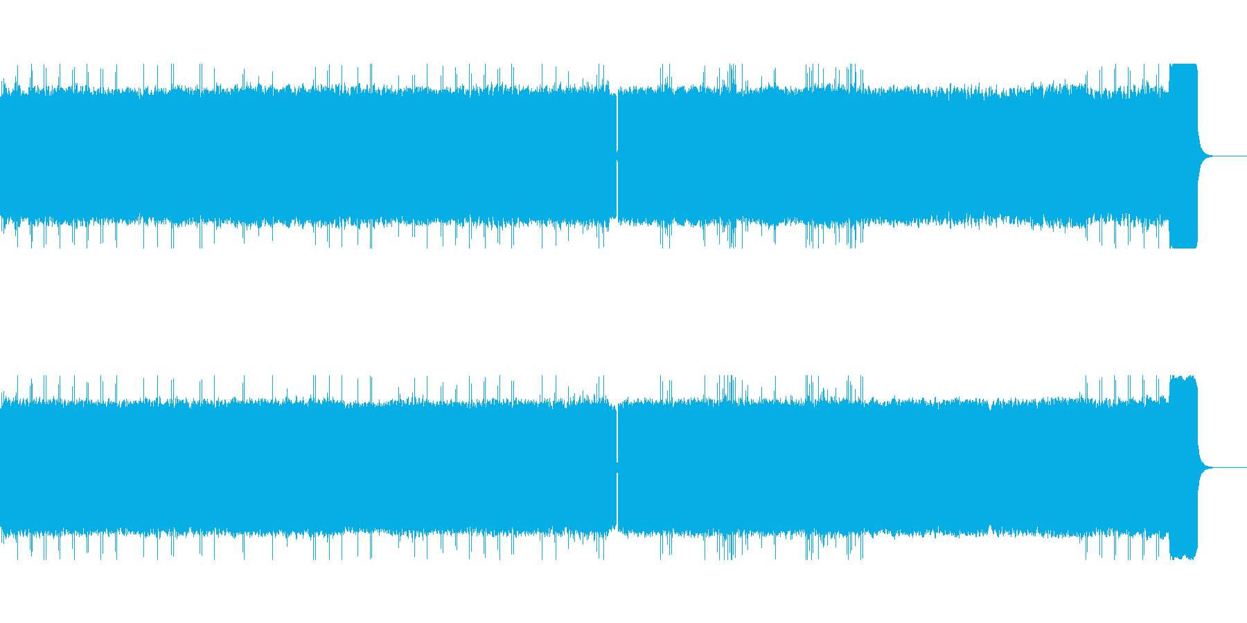 J.S.バッハ無伴奏チェロ組曲8bit風の再生済みの波形