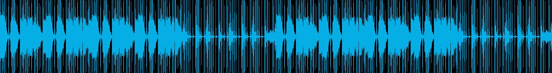 流れるようなボーカルとシンセのカッ...の再生済みの波形