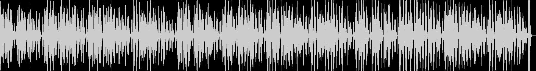 ピアノソロ・軽快・ほのぼの明るいBGMの未再生の波形