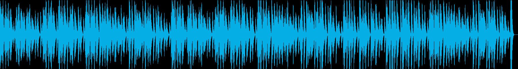 ピアノソロ・軽快・ほのぼの明るいBGMの再生済みの波形