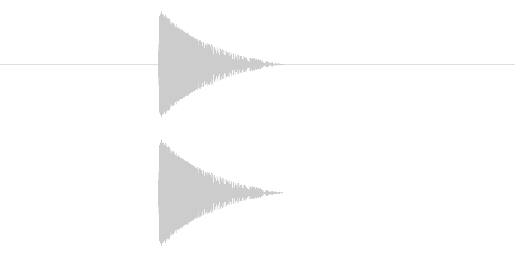ファミコン風_ピュン_弾を打つ音5の未再生の波形