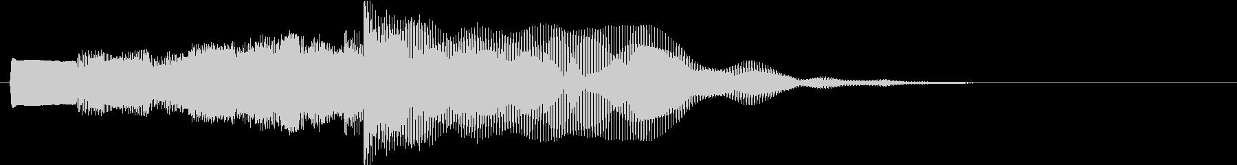反復的なシンセ要素と脈動するベース...の未再生の波形