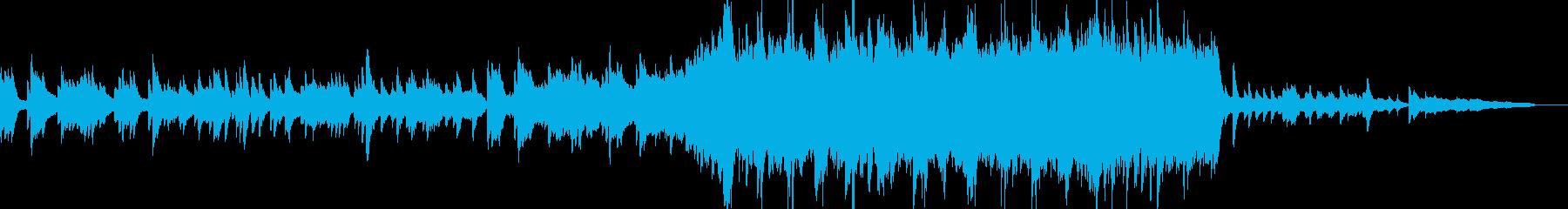 感動の場面に最適なピアノ+オーケストラ曲の再生済みの波形