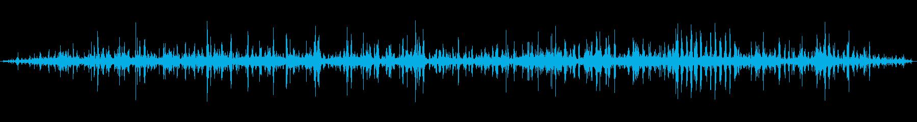 [ASMR]波打ち際の音_002の再生済みの波形