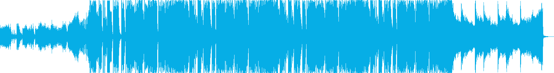 おしゃれで明るいエレクトロの再生済みの波形