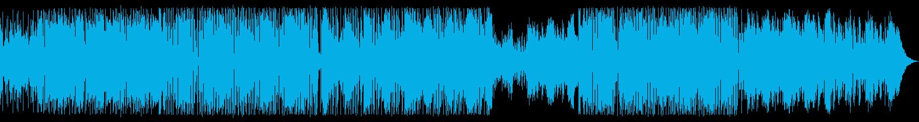 ファンク・インストゥルメンタル。フ...の再生済みの波形