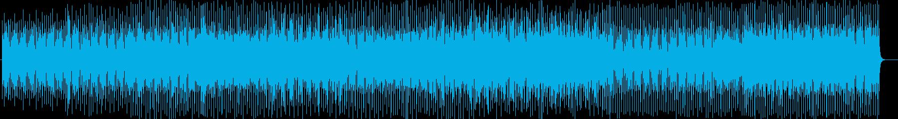 チャイナ風シンセサイザーなどの曲の再生済みの波形