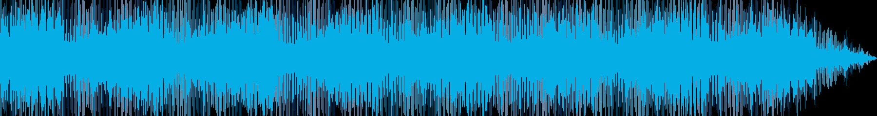 楽しい時間を過ごしているイメージのEDMの再生済みの波形