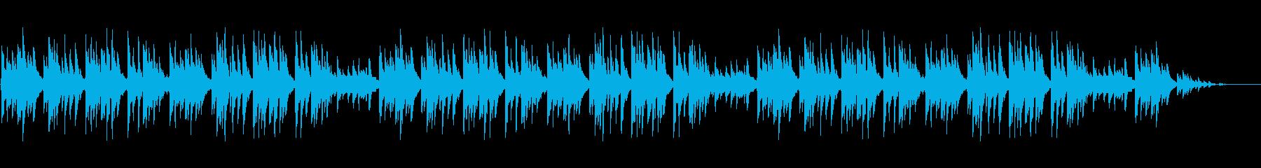 「どんぐりころころ」シンプルな琴アレンジの再生済みの波形