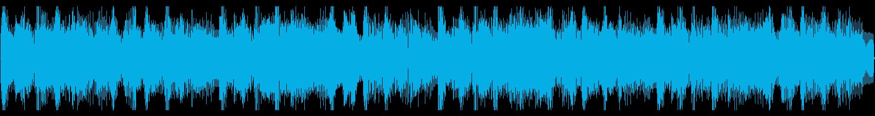 上品でおしゃれなエレピと軽快なリズムの曲の再生済みの波形