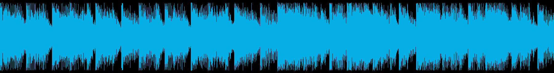 ほのぼのした雰囲気のポップロック-ループの再生済みの波形