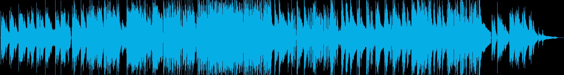しっとりとしたピアノトリオのバラードの再生済みの波形