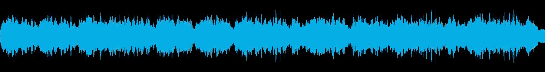 キラキラしたかわいいBGMの再生済みの波形