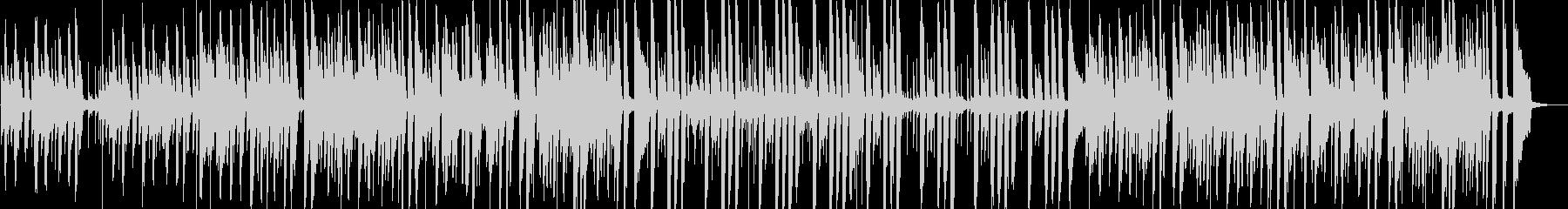 オシャレで複雑なピアノポストロックの未再生の波形