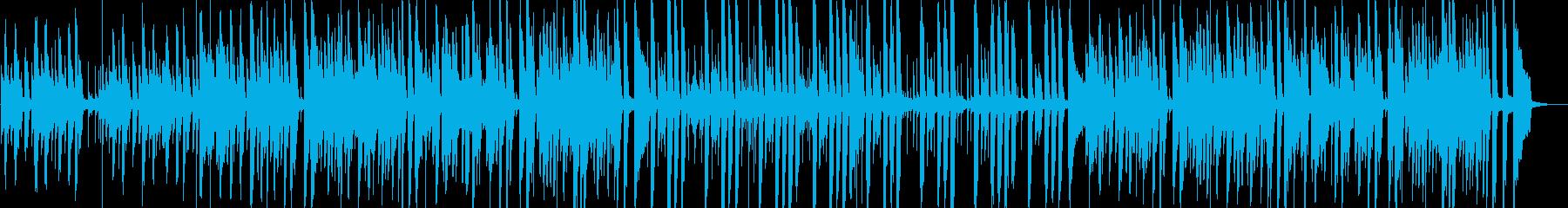 オシャレで複雑なピアノポストロックの再生済みの波形