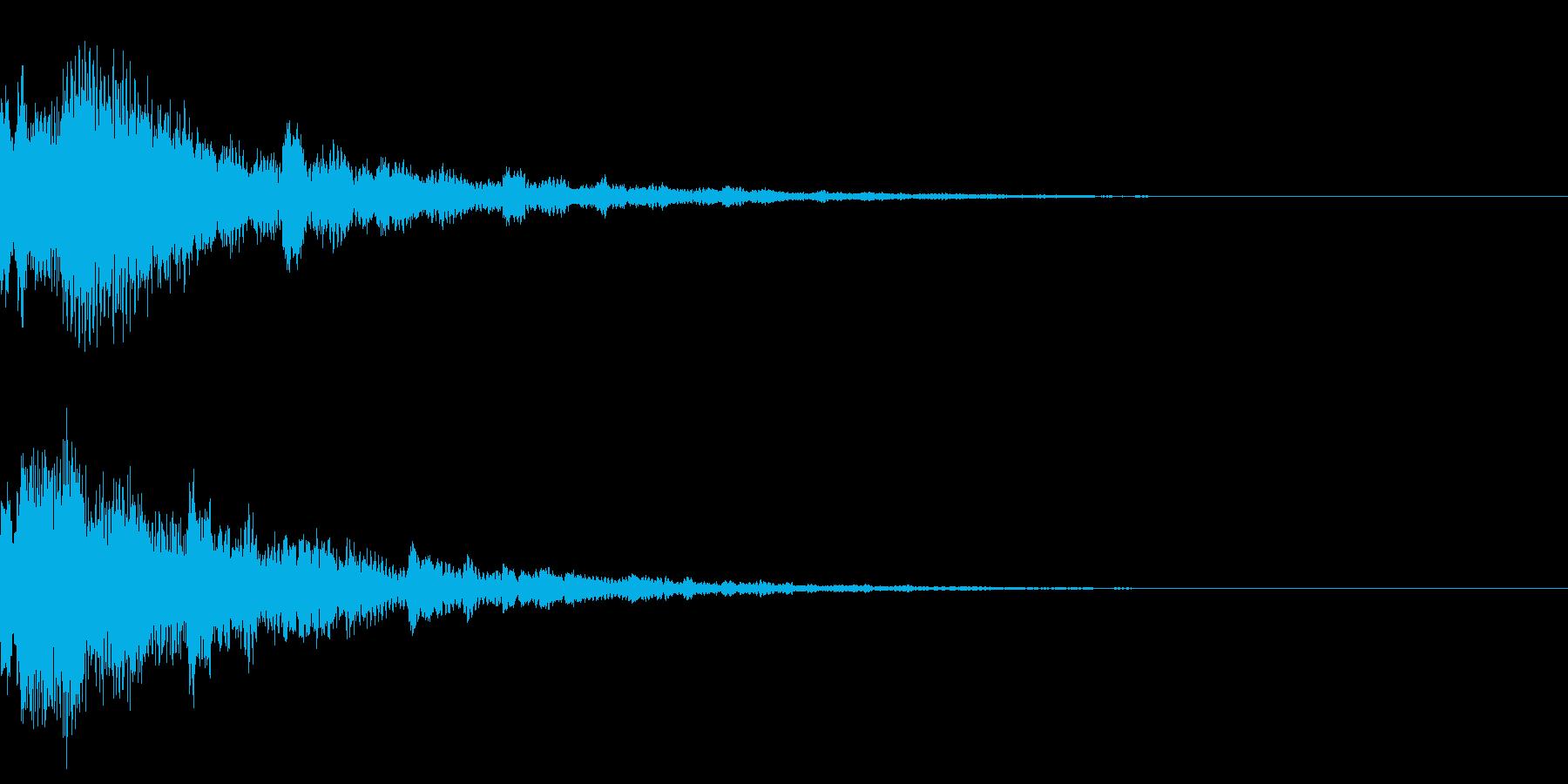 サウンドロゴ35(ベル系)の再生済みの波形