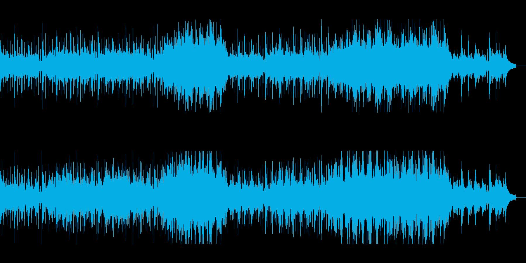 優しい風の再生済みの波形