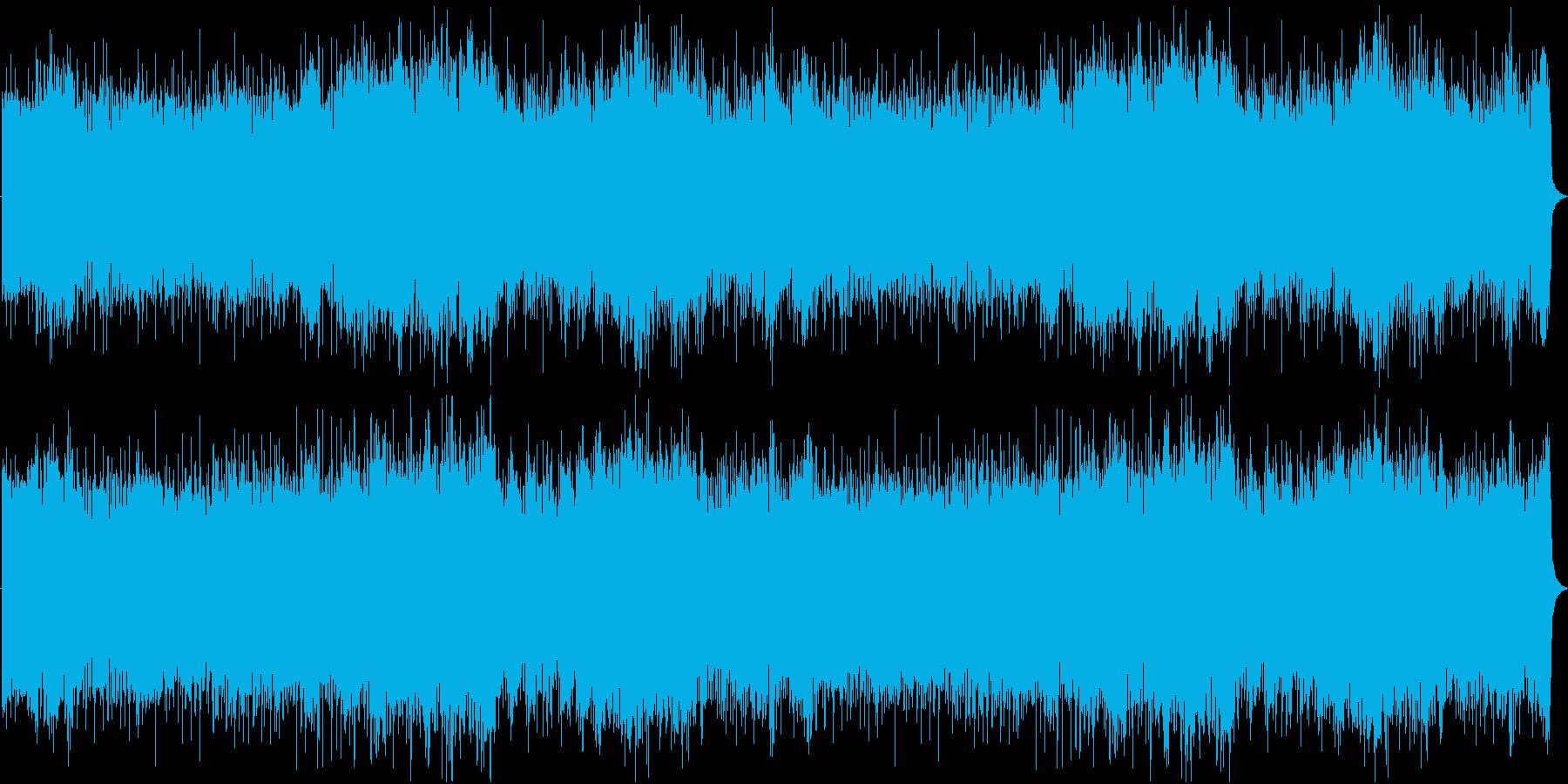 メロディアスで熱いゴシックロックの再生済みの波形