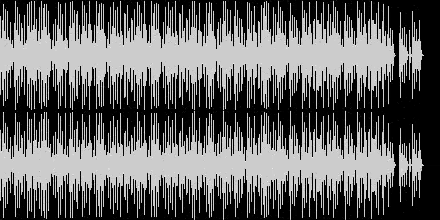 かわいいチェレスタのソロの未再生の波形