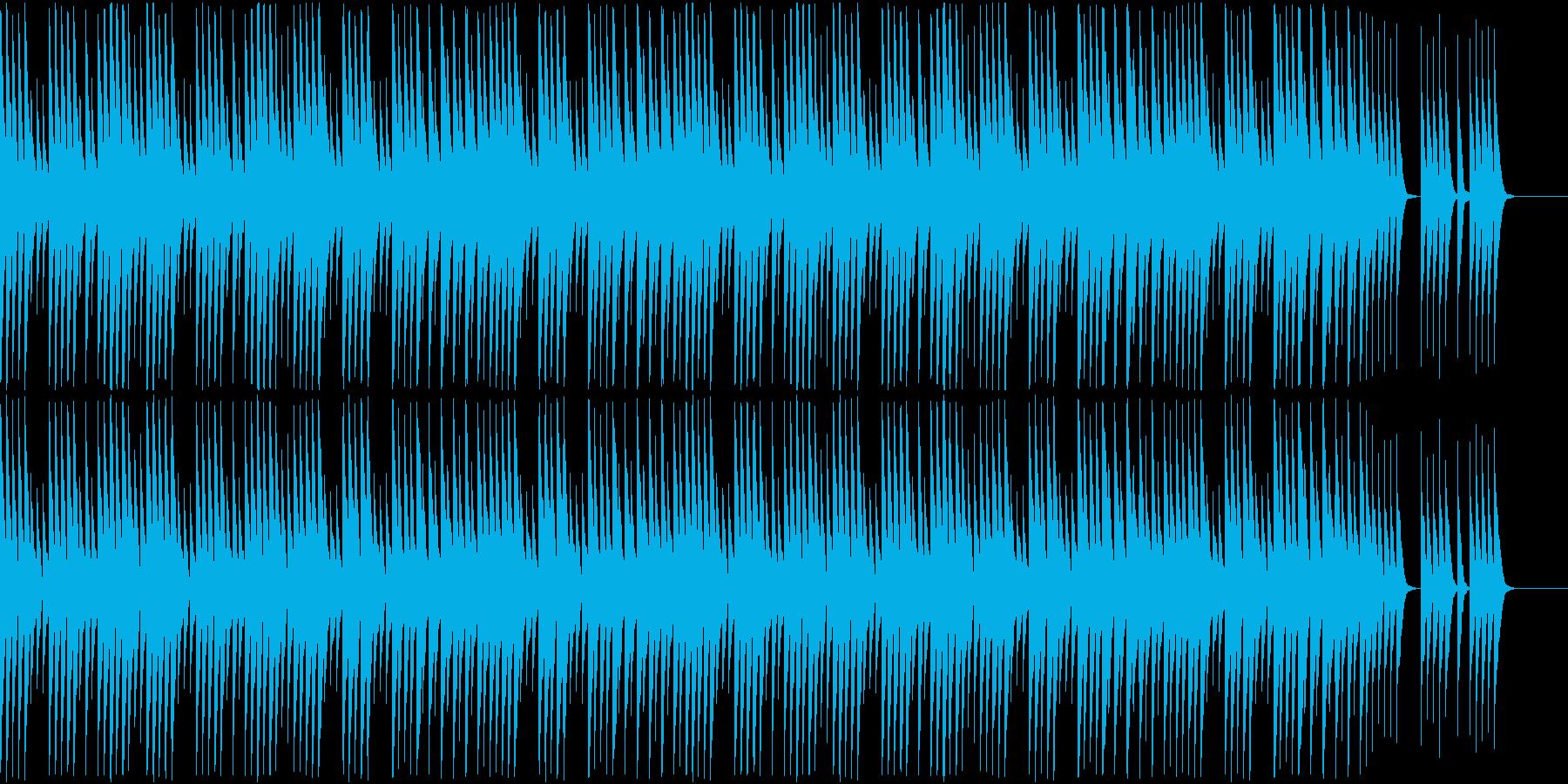 かわいいチェレスタのソロの再生済みの波形