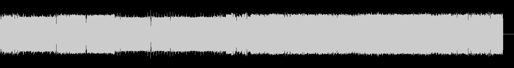 テレメトリー;リズムデータ;プリン...の未再生の波形