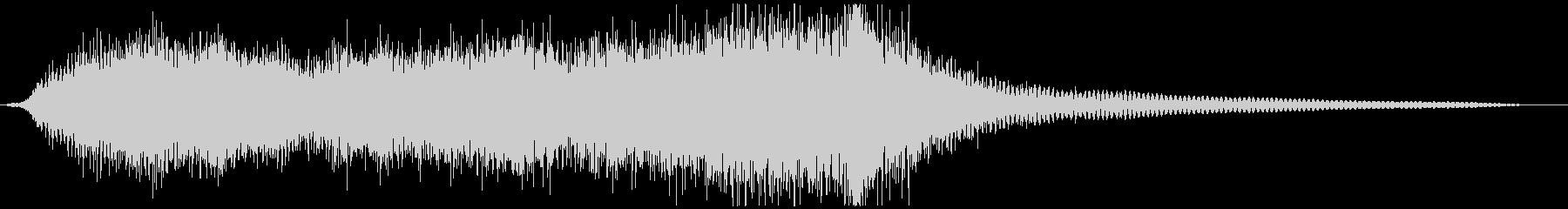 イベントなどに短いオーケストラジングルの未再生の波形