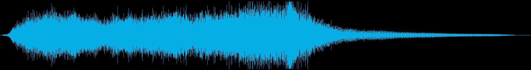 イベントなどに短いオーケストラジングルの再生済みの波形
