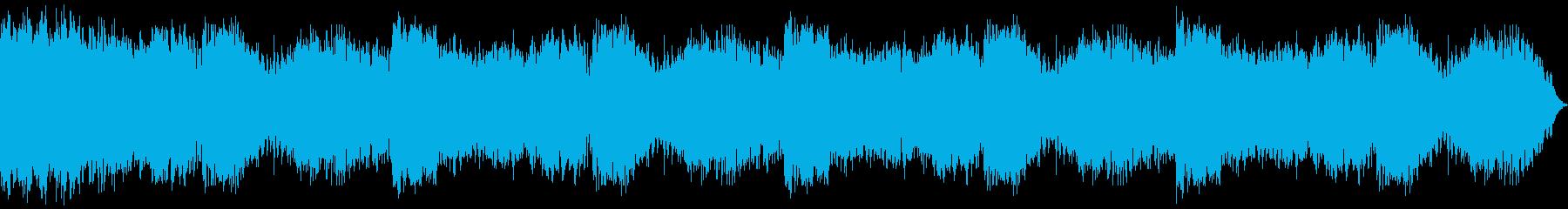 ギタースラッシングホラーの再生済みの波形