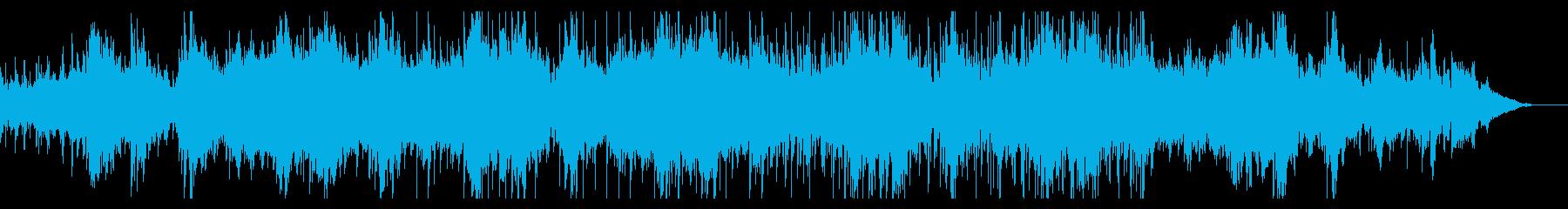 ホラー風味のシネマアンビエントの再生済みの波形