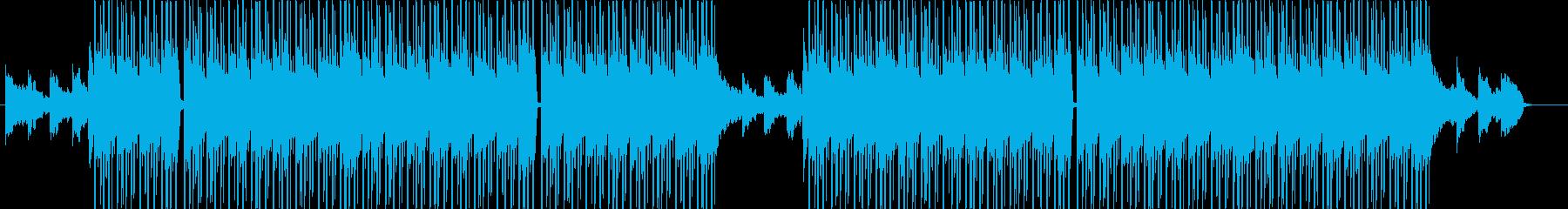 洋楽、チルアウト、エモーショナルR&B♪の再生済みの波形