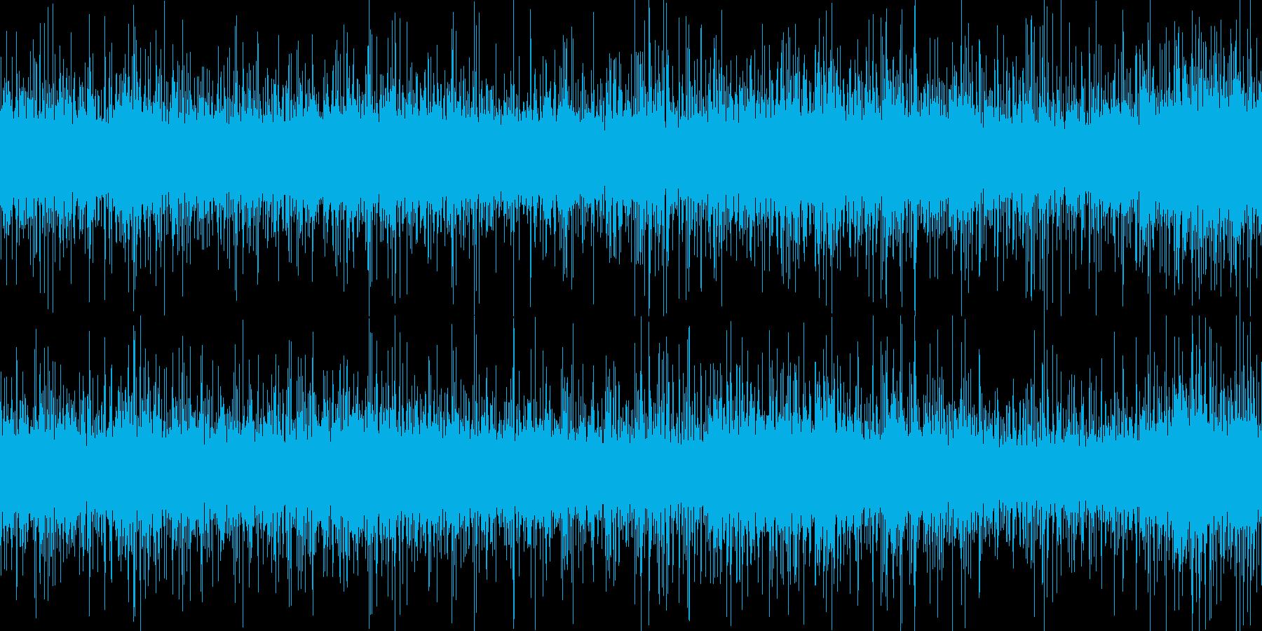 餃子を揚げるの再生済みの波形