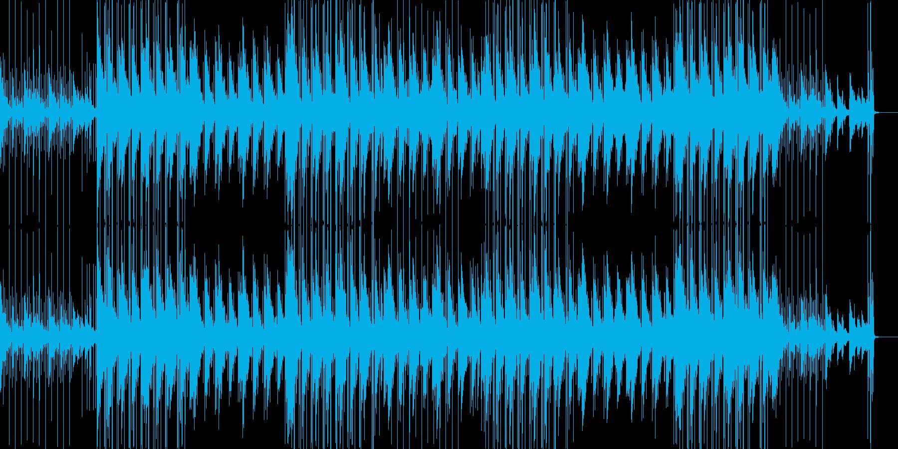 切なく美しいメロディの和風ヒップホップの再生済みの波形