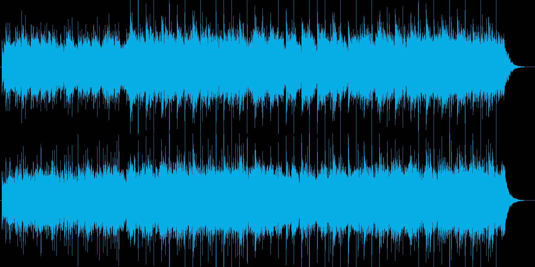 琴、ヴァイオリン、切なく壮大な和風BGMの再生済みの波形