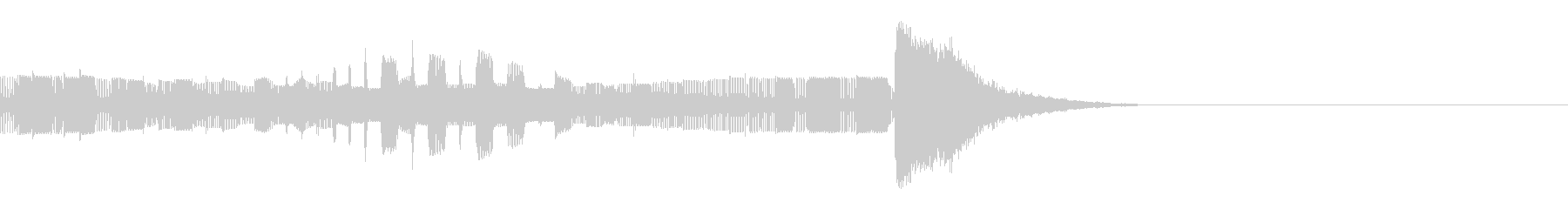 強力なファイナルコードで高速終了の未再生の波形
