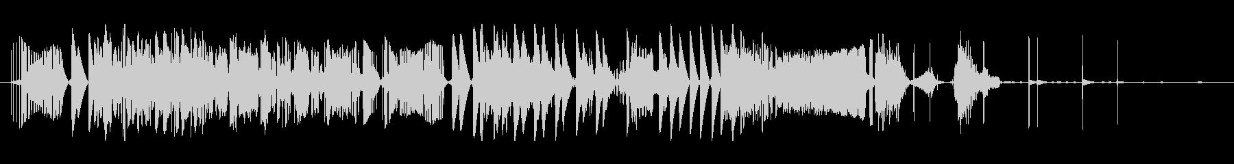 エレクトロザップの未再生の波形