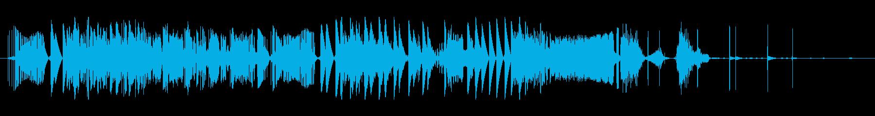 エレクトロザップの再生済みの波形