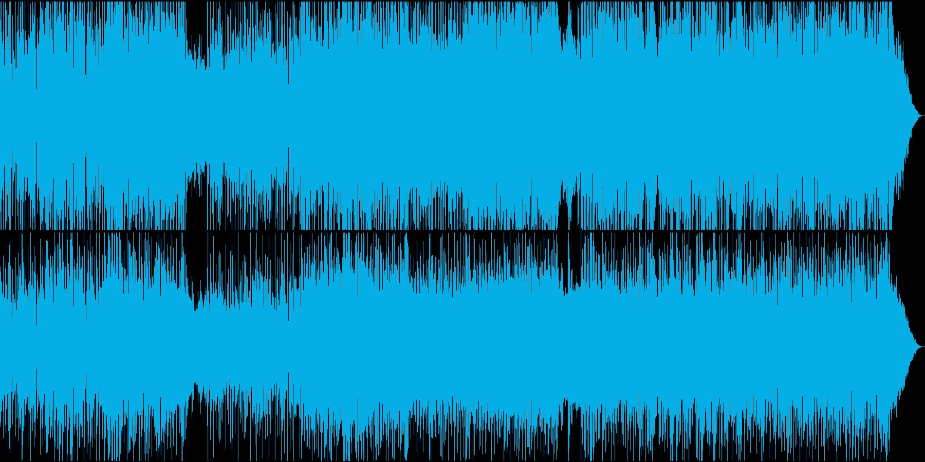 なめらかで流れるようなテナーサック...の再生済みの波形