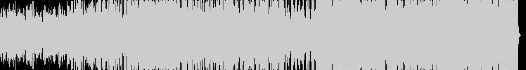 グルーヴとピアノ。パルスリズム。の未再生の波形