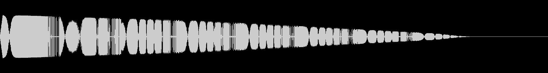 ピロロロ(弾/レーザー/SF/ゲームの未再生の波形