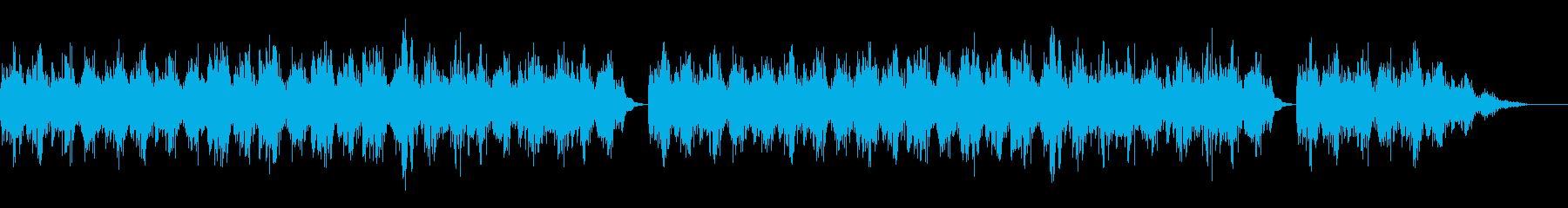 幻想的で優しい木琴のメロディーの再生済みの波形