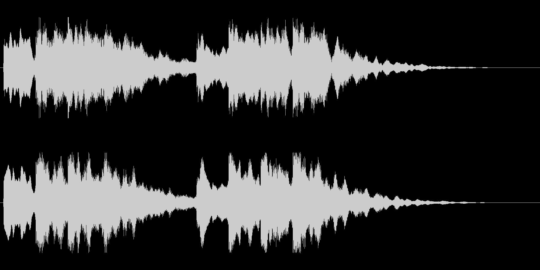 キーンコーンカーンコーン03(通常1回)の未再生の波形