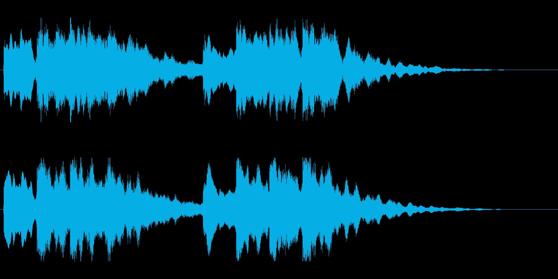 キーンコーンカーンコーン03(通常1回)の再生済みの波形